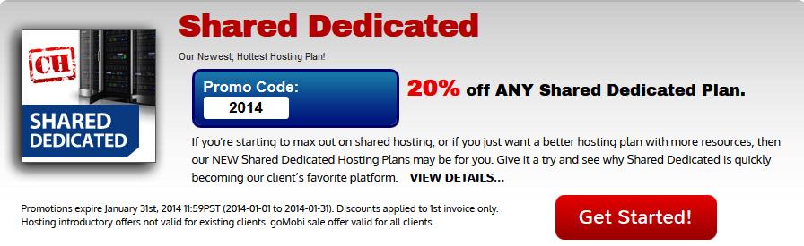 Shared Dedicated hosting